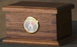 dovetail wood urn for pet memorial pet cremation