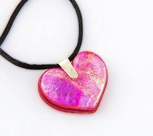 heart necklace memorial
