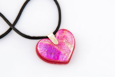 heart necklace memorial