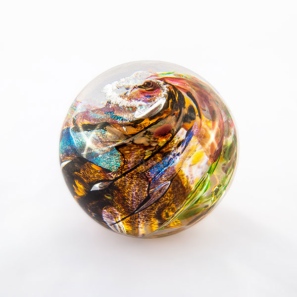 glass sphere memorial